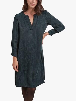 Gerard Darel Tuana Abstract Print Shift Dress, Green
