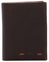 Tommy Bahama Tack Stitch L-Fold Leather Wallet