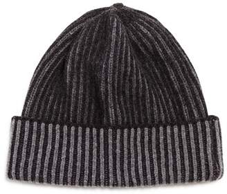 Bloomingdale's The Men's Store at Ribbed Knit Hat - 100% Exclusive