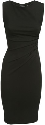 DSQUARED2 Sleeveless Ruched Stretch Jersey Dress