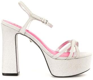 Schutz New Mini Shine Platform sandals