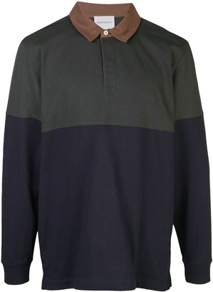 Norse Projects Colour Block Longsleeved Polo Shirt