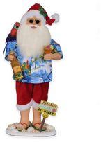 Margarita Beach Santa Figurine