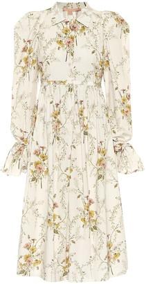 Brock Collection Romilda cotton poplin midi dress