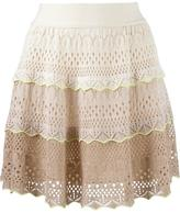 Cecilia Prado knit flared skirt