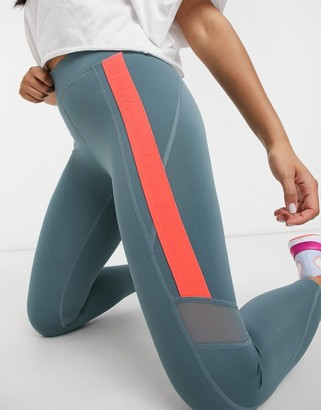 Only Play Sula 7/8 training tights in goblin blue