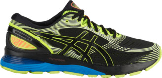 Asics GEL-Nimbus 21 Running Shoes - Black / Safety Yellow