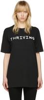 Baja East Black thriving T-shirt