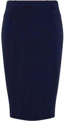 Nougat Fig Knee Length Skirt