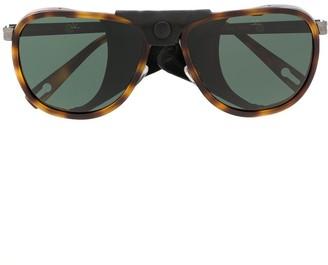 Vuarnet Glacier XL aviator sunglasses