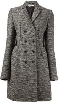 Givenchy tweed double breasted coat