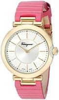 Salvatore Ferragamo Women's FIN030015 Style Analog Display Quartz Pink Watch