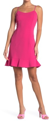 Betsey Johnson Scuba Crepe Mini Dress
