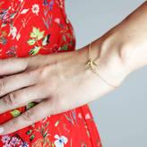 Lee Renee Swallow Bracelet 18ct Gold Vermeil/Silver
