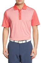 Cutter & Buck Men's 'Compound Mixed Stripe' Drytec Golf Polo