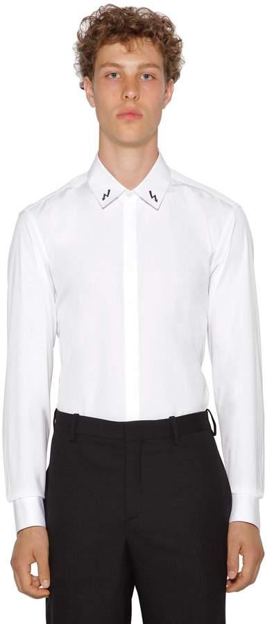 83a2d047 Neil Barrett Poplin Men's Shirts - ShopStyle