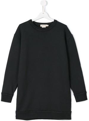 Andorine Teen Frayed Sweatshirt Dress