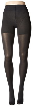 Wolford Velvet de Luxe 66 Control Top Tights (Admiral) Fishnet Hose
