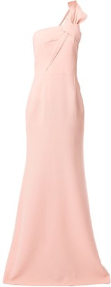Roland Mouret Gosford one shoulder gown
