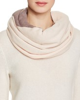 UGG Fine Gauge Color Block Infinity Scarf
