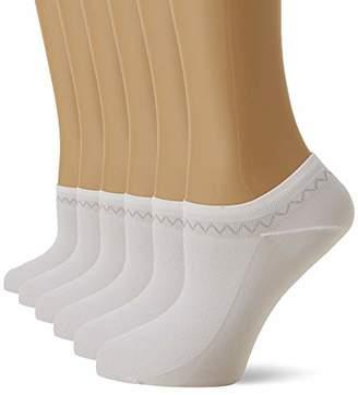 Nur Die Women's 6er Feines Schuhsöckchen Ankle Socks,(size: 39-42) (pack of 6)