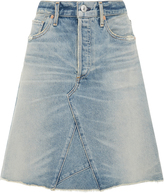 Citizens of Humanity Liya High Waist Denim Skirt