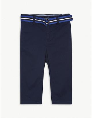Ralph Lauren Striped belt cotton chinos 3-24 months