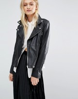 Just Female Leather Biker