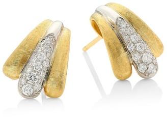 Marco Bicego Lucia 18K Yellow Gold & Diamond Earrings