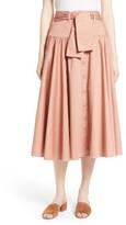 Rebecca Taylor Women's Midi Skirt