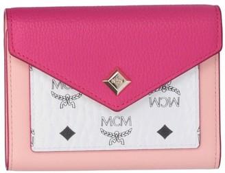 MCM Love Letter Trifold Wallet