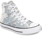 Converse Chuck Taylor ® All Star ® 'Holiday Party' Sequin High Top Sneaker (Women)
