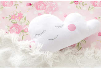 My Baby Sam Cloudy Pink Throw Pillow Bedding