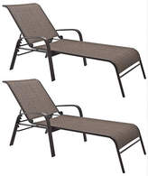 Corliving Reclining Patio Lounger Set