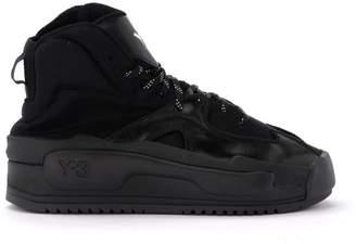 Y-3 Y 3 Sneaker Hokori Model In Mesh And Black Leather