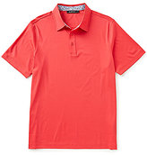 Bugatchi Solid Short-Sleeve Polo Shirt