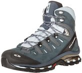 Salomon Women's Quest 4D GTX Backpacking Boot,Deep Blue/Cerulean/Grey Denim,6 M US