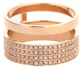 Repossi Berbere Module 18kt Rose Gold Ring With Diamonds