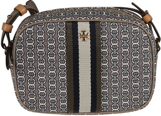 Tory Burch Gemini Link Canvas Mini Shoulder Bag