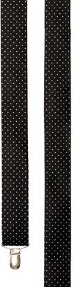 Tie Bar Mini Dots Black Suspender