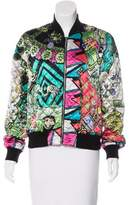 Etro Silk Quilted Bomber Jacket