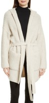 ATM Anthony Thomas Melillo Women's Hooded Sweater Coat