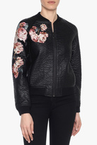 Joe's Jeans Embroidered Bomber Jacket