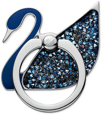 Swarovski Stainless Steel Crystal Swan Phone Case Ring Sticker