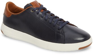 Cole Haan Perforated Low Top Sneaker