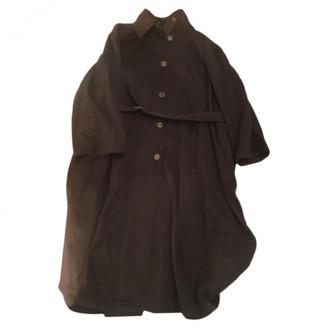 Aspesi Green Wool Coat for Women