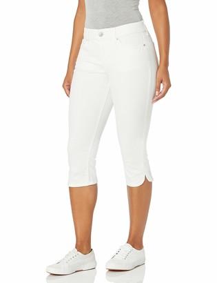 Gloria Vanderbilt Women's Plus Size Comfort Curvy Skinny Jean Capri Length