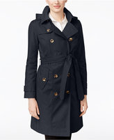 London Fog All-Weather Hooded Trench Coat