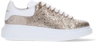 Alexander McQueen Glitter Low-Top Sneakers