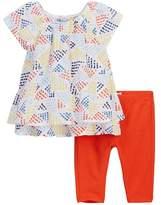 Splendid Allover Print Top & Leggings Set (Baby Girls)